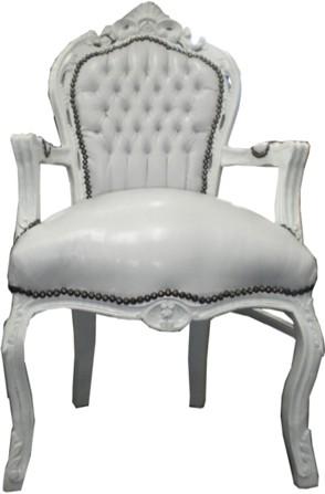 Chaise Baroque Avec Accoudoir