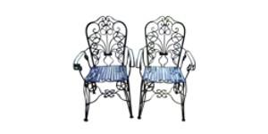 Art nouveau, baroque et rococo meubles de jardin