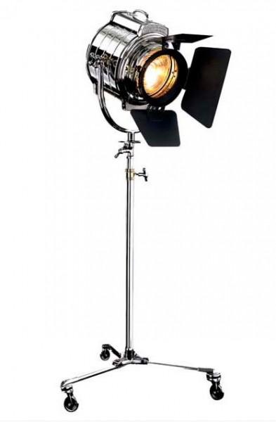 studio de luxe lumi re de la lampe de plancher de la lampe vintage chrome finition nickel. Black Bedroom Furniture Sets. Home Design Ideas