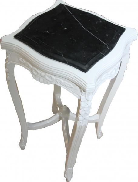 table casa padrino baroque avec plaque de marbre blanc place mod w17 70 x 37 cm antique style. Black Bedroom Furniture Sets. Home Design Ideas
